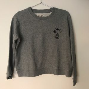 Snoopy sweatshirt by Madewell x PEANUTS